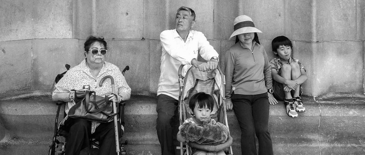 Tourists, Barcelona 2014