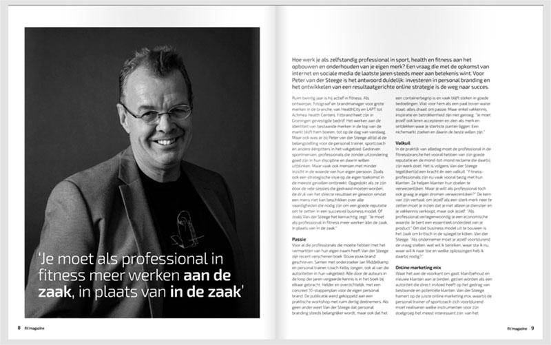 Fit!vak interview met peter van der steege over branding